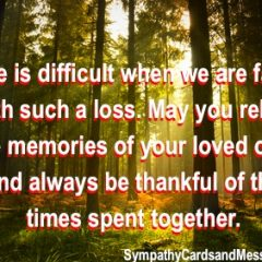 Sympathy Messages for You to Copy