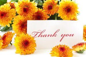Thank yousayings