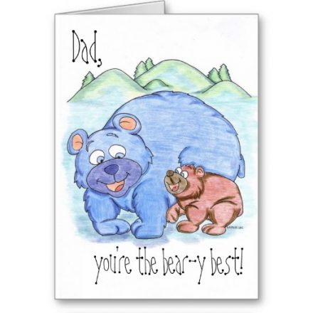 Happy Father's Day Happy Birthday Thank You Dad Card