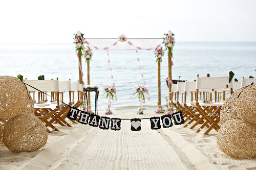 Destination Wedding Thank You